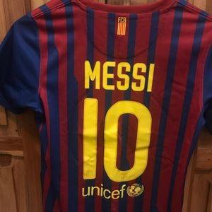 2011-2012 Leonel Messi Jersey